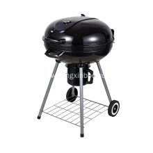 22.5 Inch Charcoal Kettle Barbecue Grill Black
