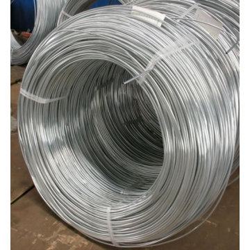 High strength hot dip galvanized wire construction