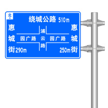 Customizable Road Signs Traffic Signs Aluminum Indicator