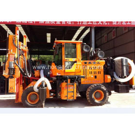 Highway Guardrail Hydraulic Pile Driver
