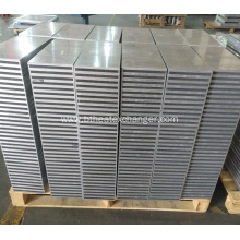 Brazed Aluminum Plate Bar Cooler Cores
