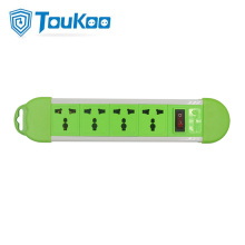 Universal 4 gang power strip grounded