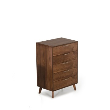 Good Quality for Chest Of Drawers Nova Mid-Century Walnut Chest export to Russian Federation Suppliers