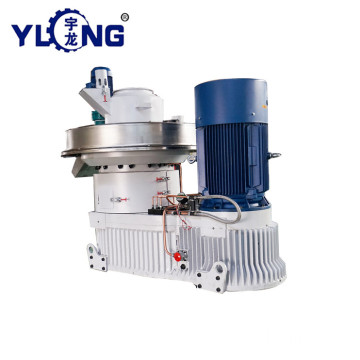 YULONG XGJ560 1.5-2TON/H biomass palm fiber pellet press