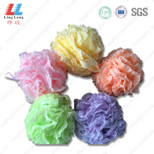 Lace absorbent flower sponge ball