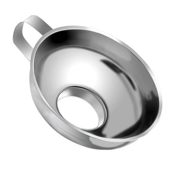 Wide Mouth Funnel Stainless Steel