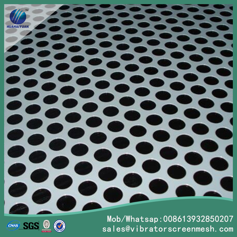 Round Hole Perforated Metal