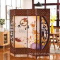 Custom-made living room wooden screen