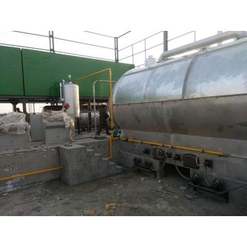environmental waste hydrocarbon  compounds pyrolysis machine