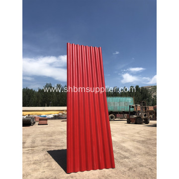 """Iron Crown"" Typhoon Resistant MGO Roofing Sheet"