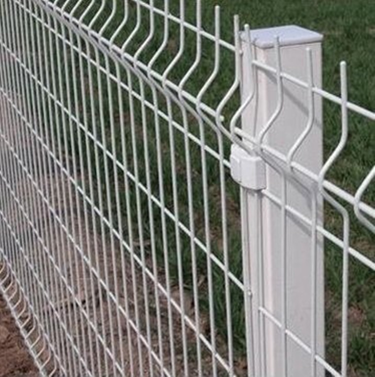 PVC Coated Triangle Bending Fence Panel