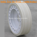 Solid Tires 16×5×12 (With brake) White