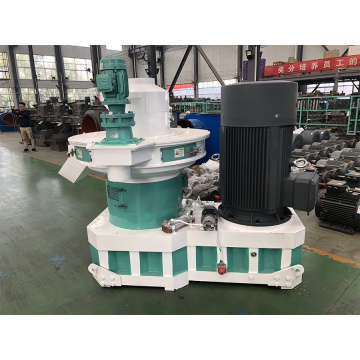 Paper waste and wood waste pellet machine