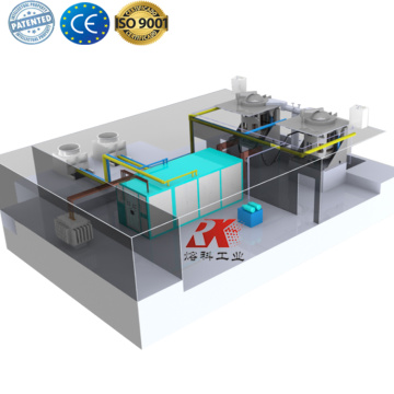 Electrical induction furnace for aluminium melting furnace