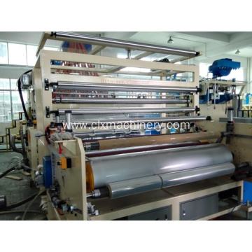 Plastic Machinery Stretch And Cling Film Rewinding Machine