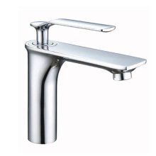 High-Arc Single-Handle Bathroom Faucet with Drain Assembly