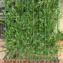 Customized artificial bamboo tree
