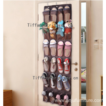 24 pockets shoe organizer non woven shoe organizer for home storage