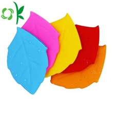 Silicone Leaf Shape Water Cup Pocket for Drinking