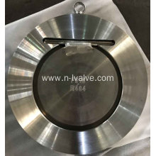 China Gold Supplier for Din Standard Check Valve Wafer Single Disc Swing Check Valve export to St. Pierre and Miquelon Suppliers