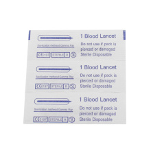 Disposable Sterile Stainless Steel Blood Lancet
