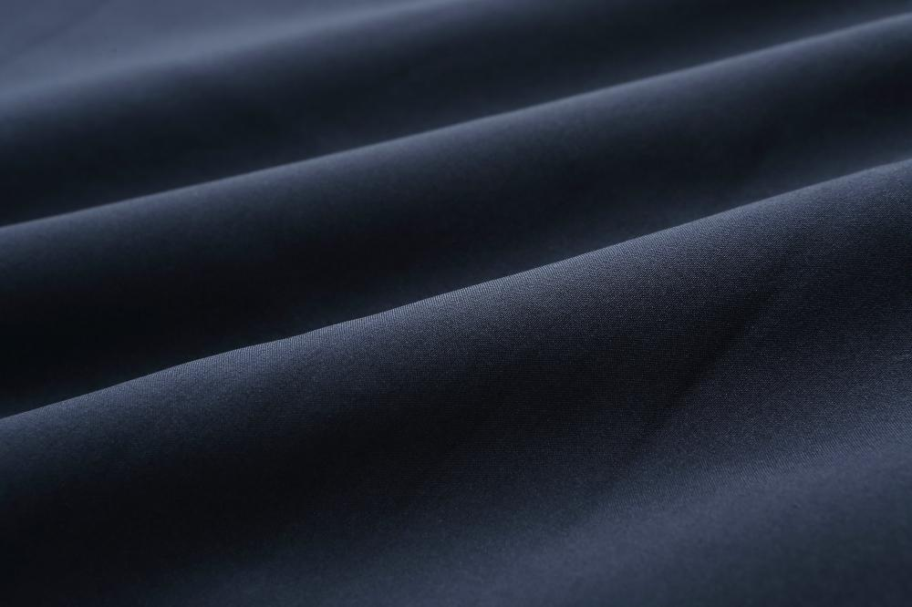 solid poly boned heavy warm fabric