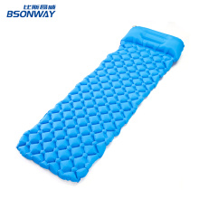 lightweight Inflating Sleeping Pad Camping Mat with pillow