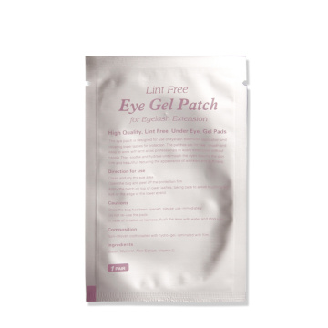Private label eye gel patch eyelashes extension