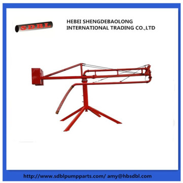 Quality Inspection for Small Concrete Krete Placer Concrete pump manual boom placer supply to Micronesia Importers