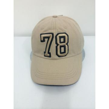 Wash 3D Embroidery Sandwich Baseball Cap