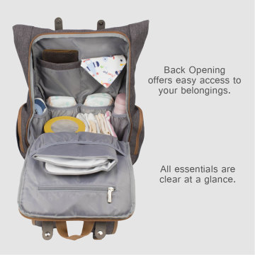 Durable Travel Mommy Baby Changing Bag Backpack
