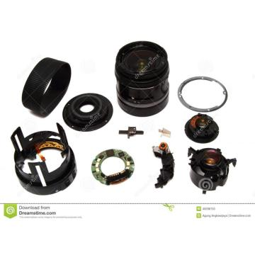 Plastic components for Zoom lens