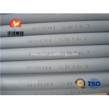 High reputation for for Incoloy Tube Durable ASME SB514 Incoloy Pipe DIN 17459 1.4876 supply to Japan Exporter