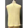 women's yellow lace blouse