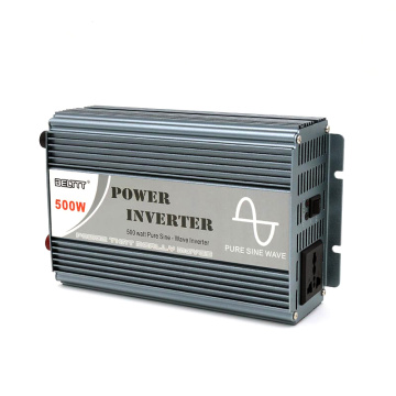 500W 12V/24VDC to 110V/220VAC Pure Sine Wave Inverter