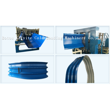 K Type Large Span Curving Roof Tile Machine