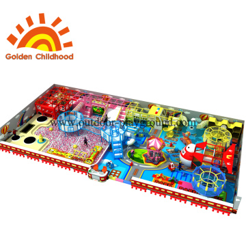 Candy Indoor Playground Equipment Combination