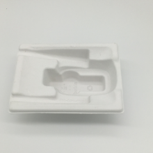 Excellent quality for China Yellow Molded Pulp Tray,Molded Pulp Packaging,Molded Fiber Packaging Supplier Durable wet press moulded pulp paper tray export to Grenada Factory