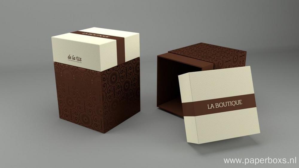 Cosmetic Custom Male Perfume Paper Box