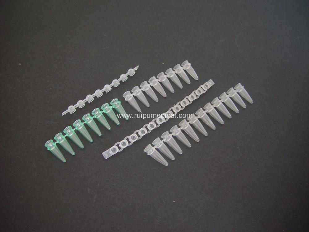 Pcr Tube Strip 8 or 12 Channel