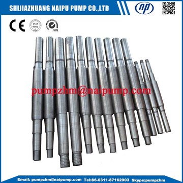 shaft for slurry pumps