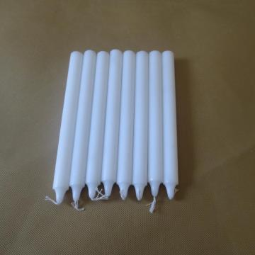 70% Paraffin Wax Bright White Stick Candles