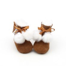 Brown Winter Warm Baby Boots