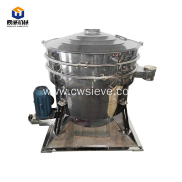 High efficiency rotary particle swing sieve