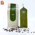 Flat bottom pouch 250gsm coffee bag