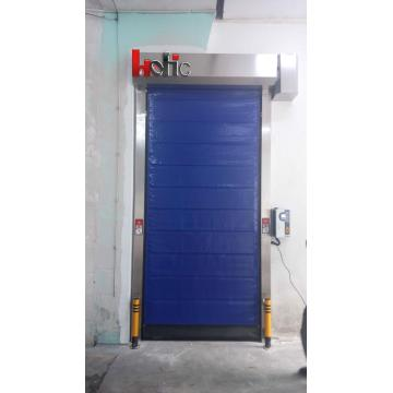 Internal Industrial Cold Storage Rapid Freezer PVC Door
