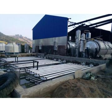 Q245R/16mm reactor tire pyrolysis machine