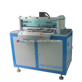 Full Auto Smart Card Mold Hole Punching Machine