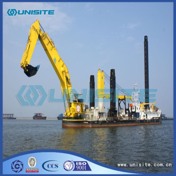 Bucket marine chain dredger