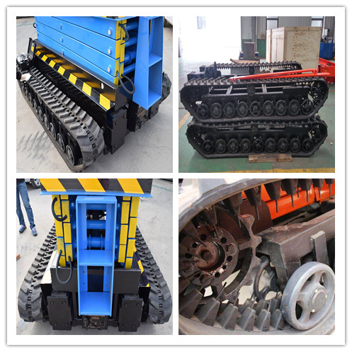 scissor lift tracked scissor lift self propelled scissor lift with apron wheel